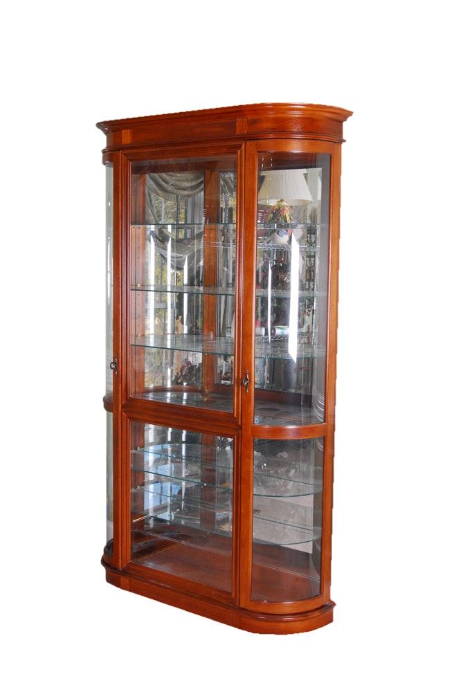 Vintage Curio Cabinet ...