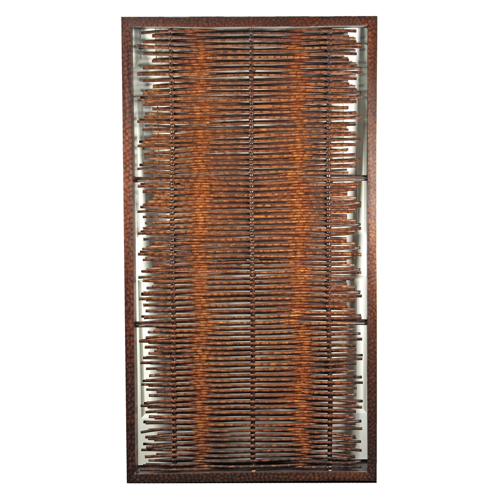 Japanese Style Rattan Window Screen