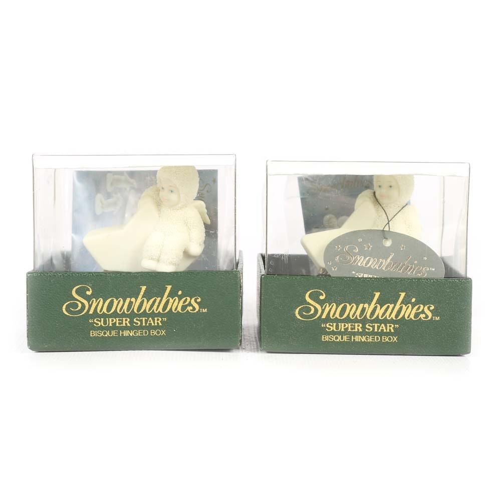 Snowbabies Trinket Boxes