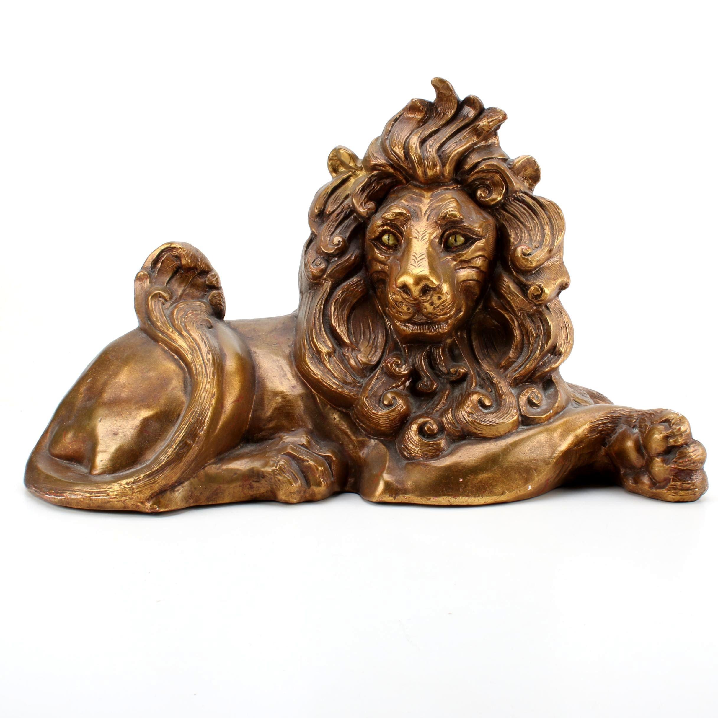 Mid-century Kay Finch Design for Freeman & McFarlin Lion Figurine