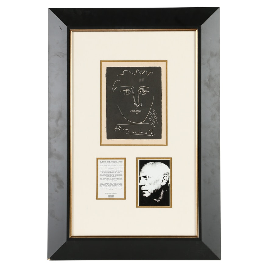 Pablo Picasso Heliogravure \