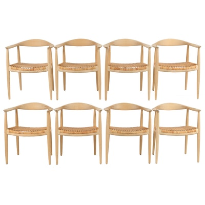 """Hans Wegner Authorized Reproduction Armchairs """"The Chair"""""""