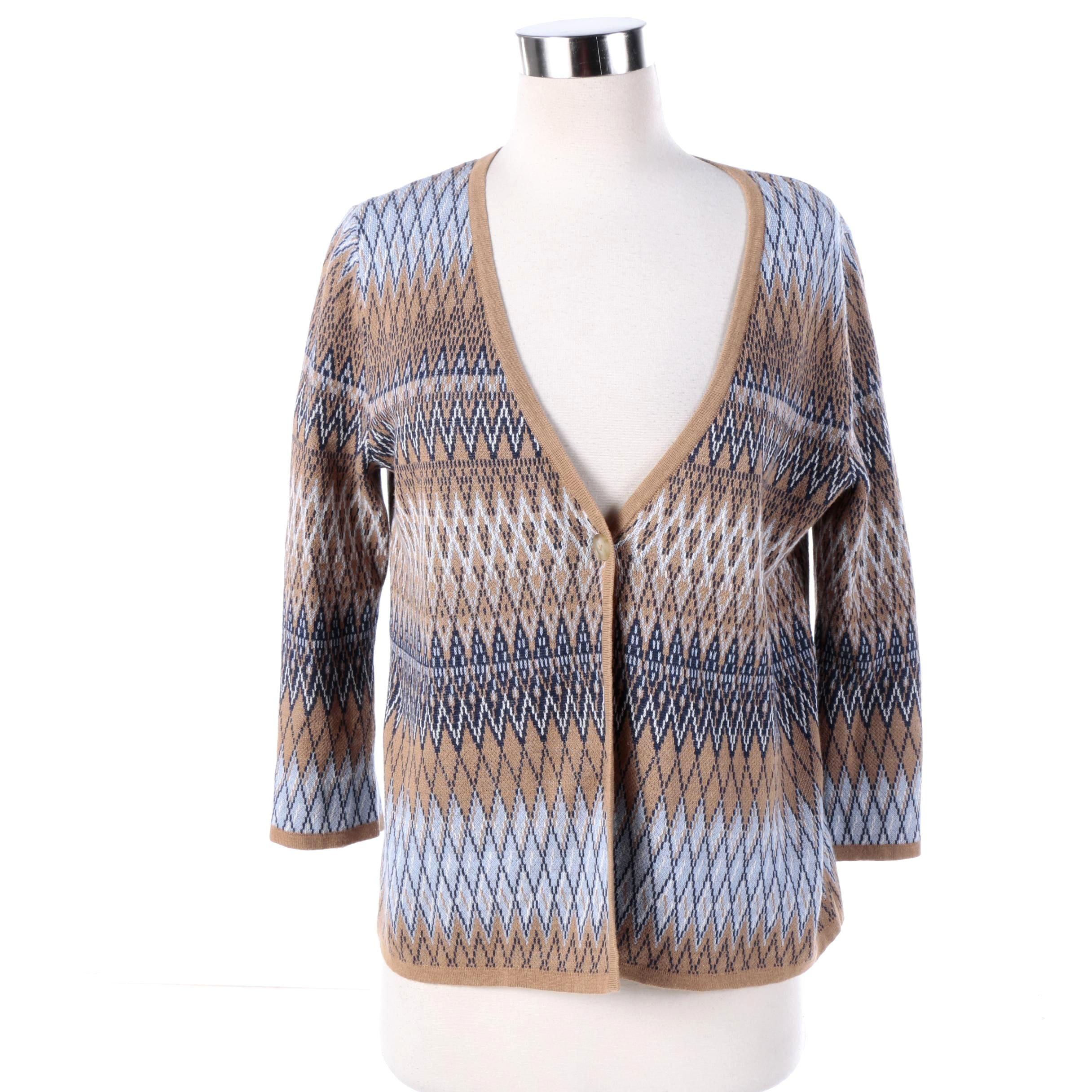Women's Pendleton Cotton Blend Cardigan