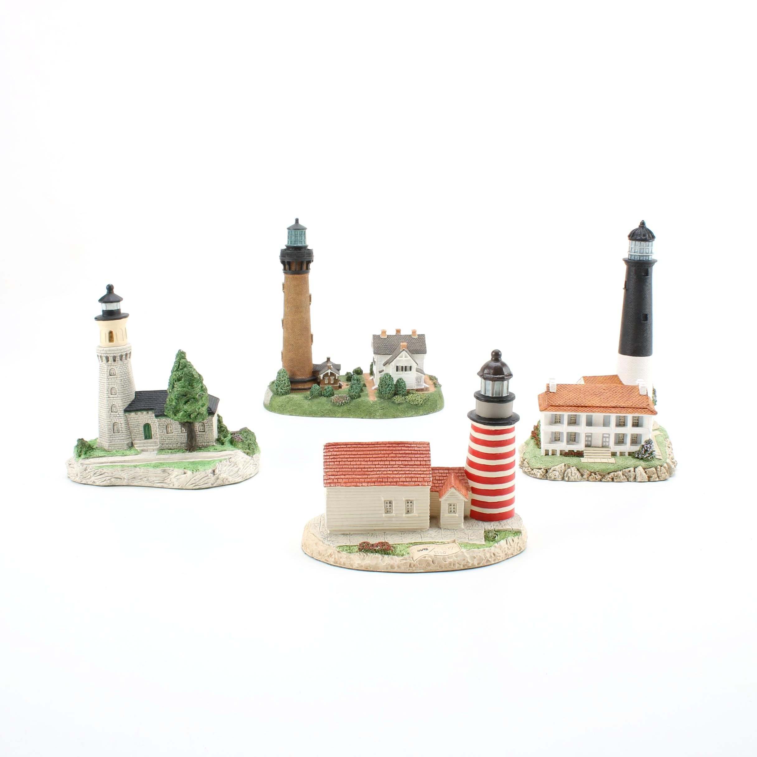 """Four Harbour Lights Lighthouses """"Fort Niagra"""", """"Pensacola FL"""" and More"""