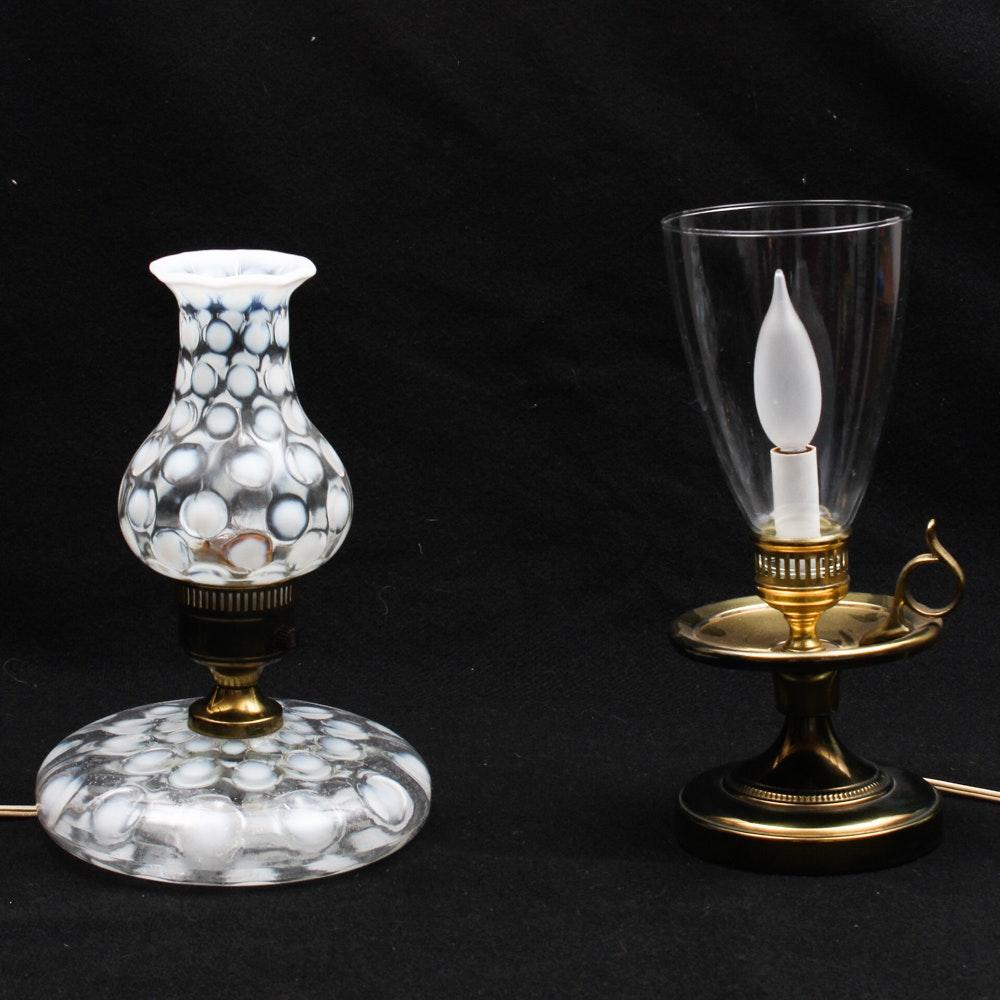 Pair of Vintage Dresser Lamps