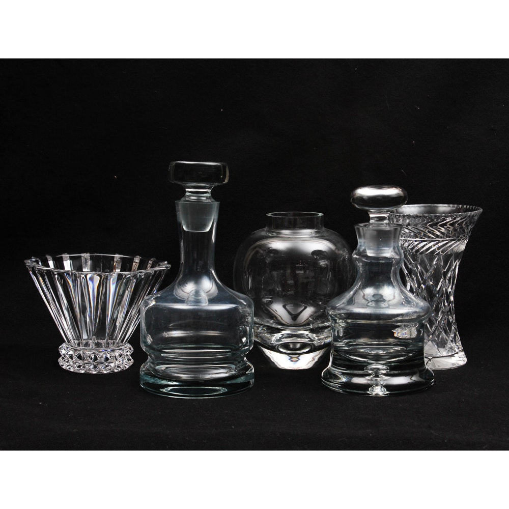 Elegant Crystal and Glassware Collection including Rosenthal