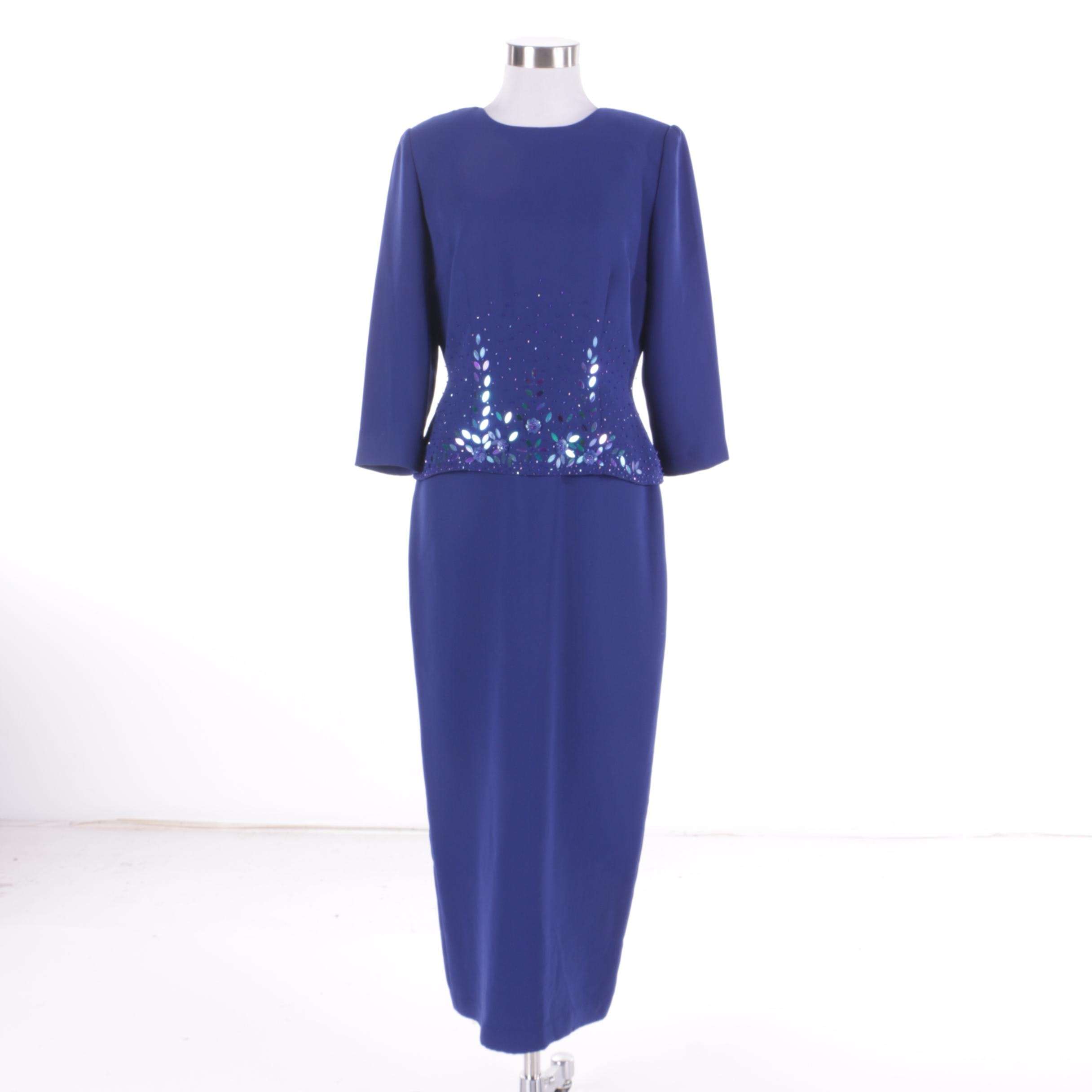 Women's Donna Morgan Dress with Beaded Accents