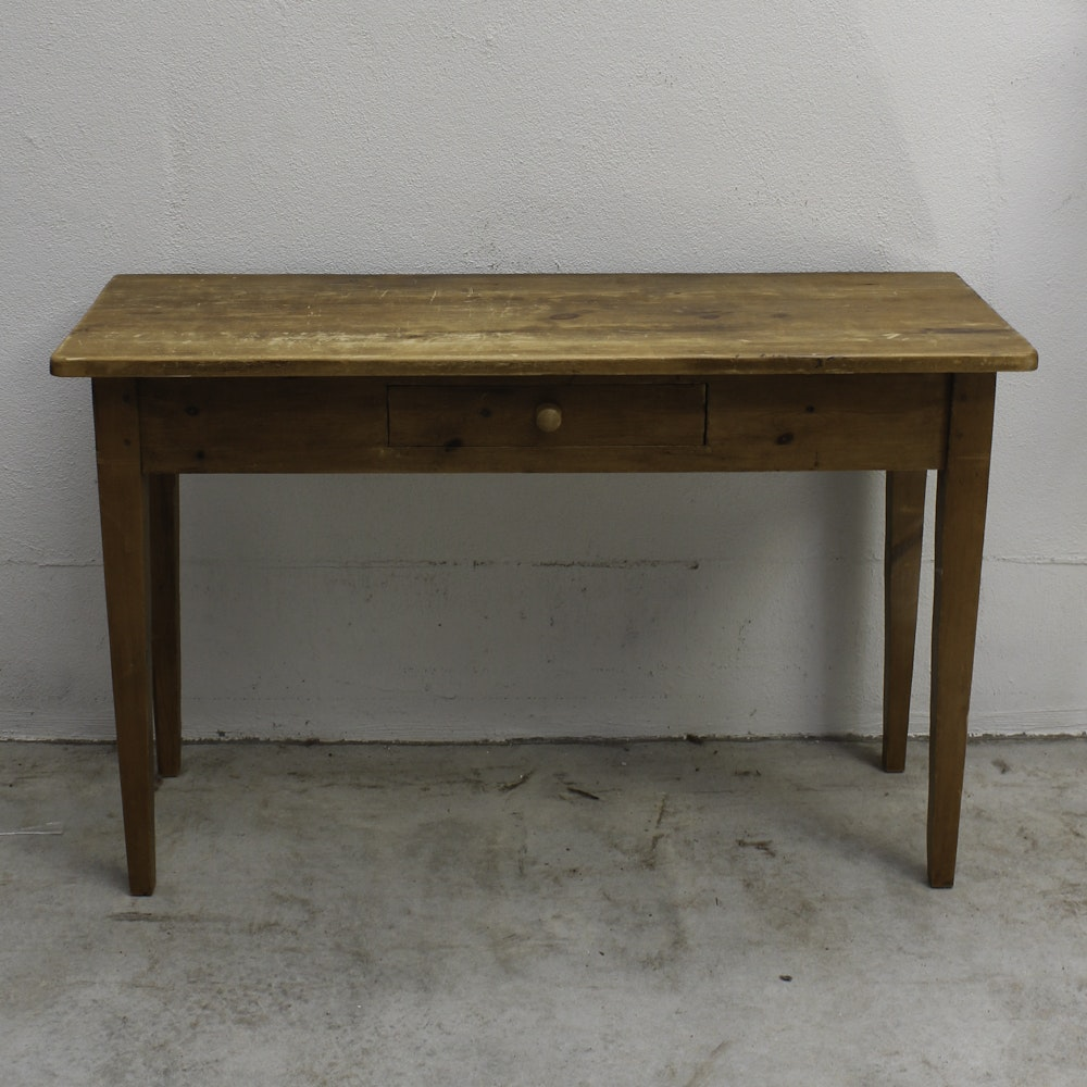 Antique Kitchen Work Table