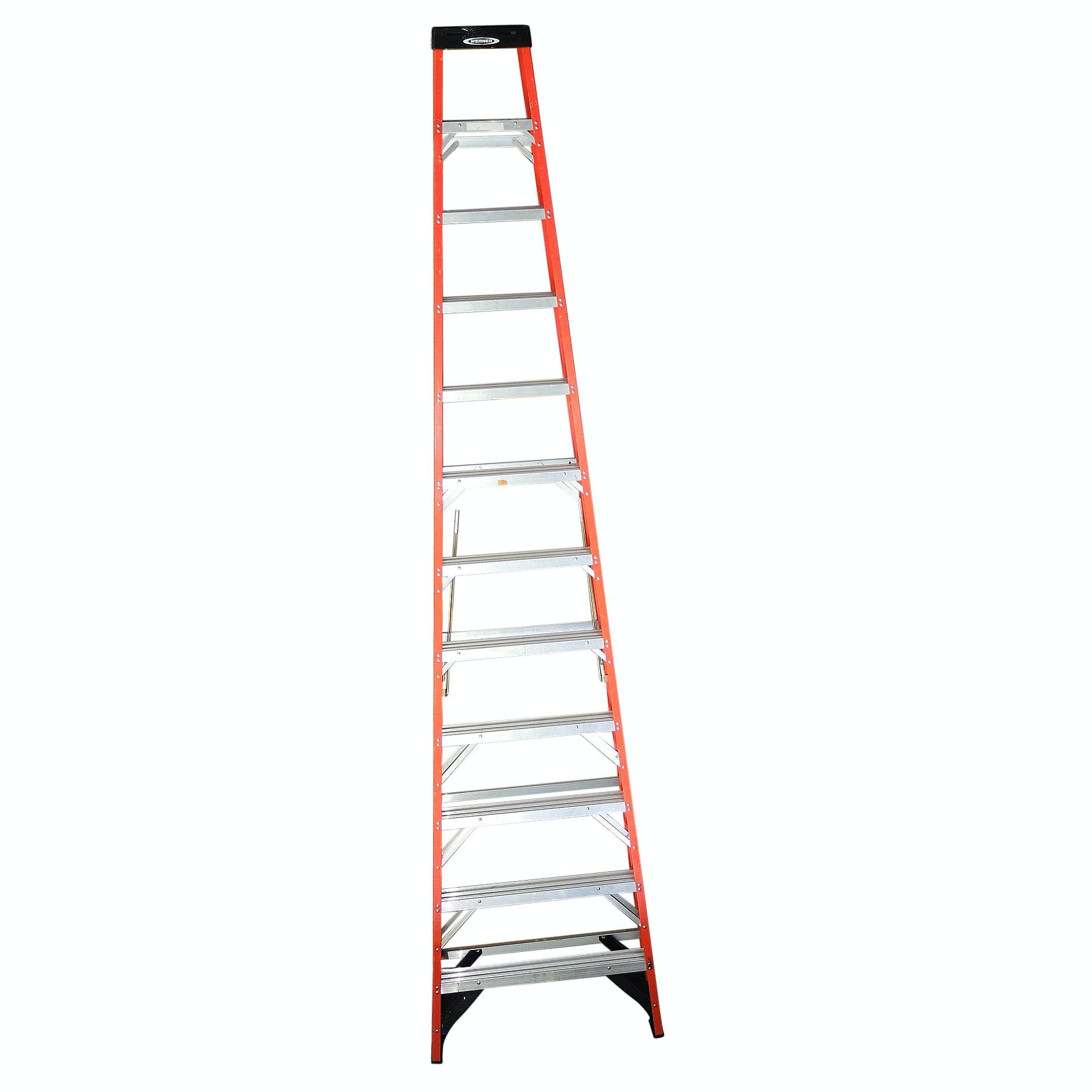 Werner 12 Foot Fiberglass Step Ladder
