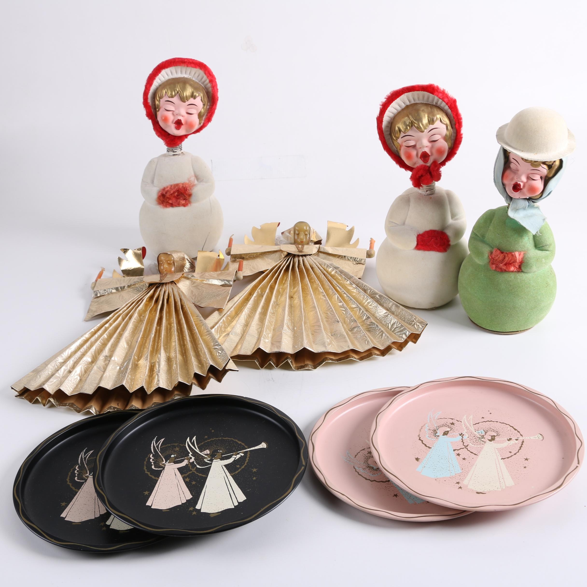 Holiday Figurines, Bobble Heads and Plates