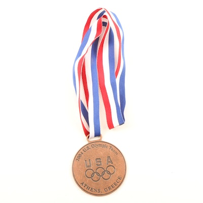 2004 Athens Greece U.S. Olympic Team Medal