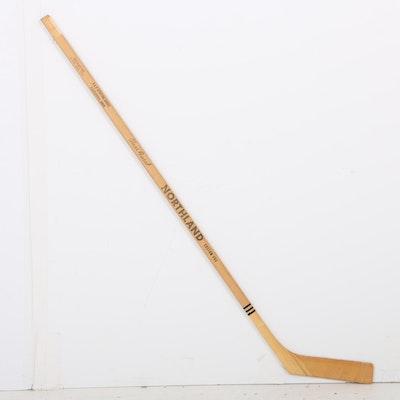 Minnesota North Stars 1968-69 Team Signed Hockey Stick