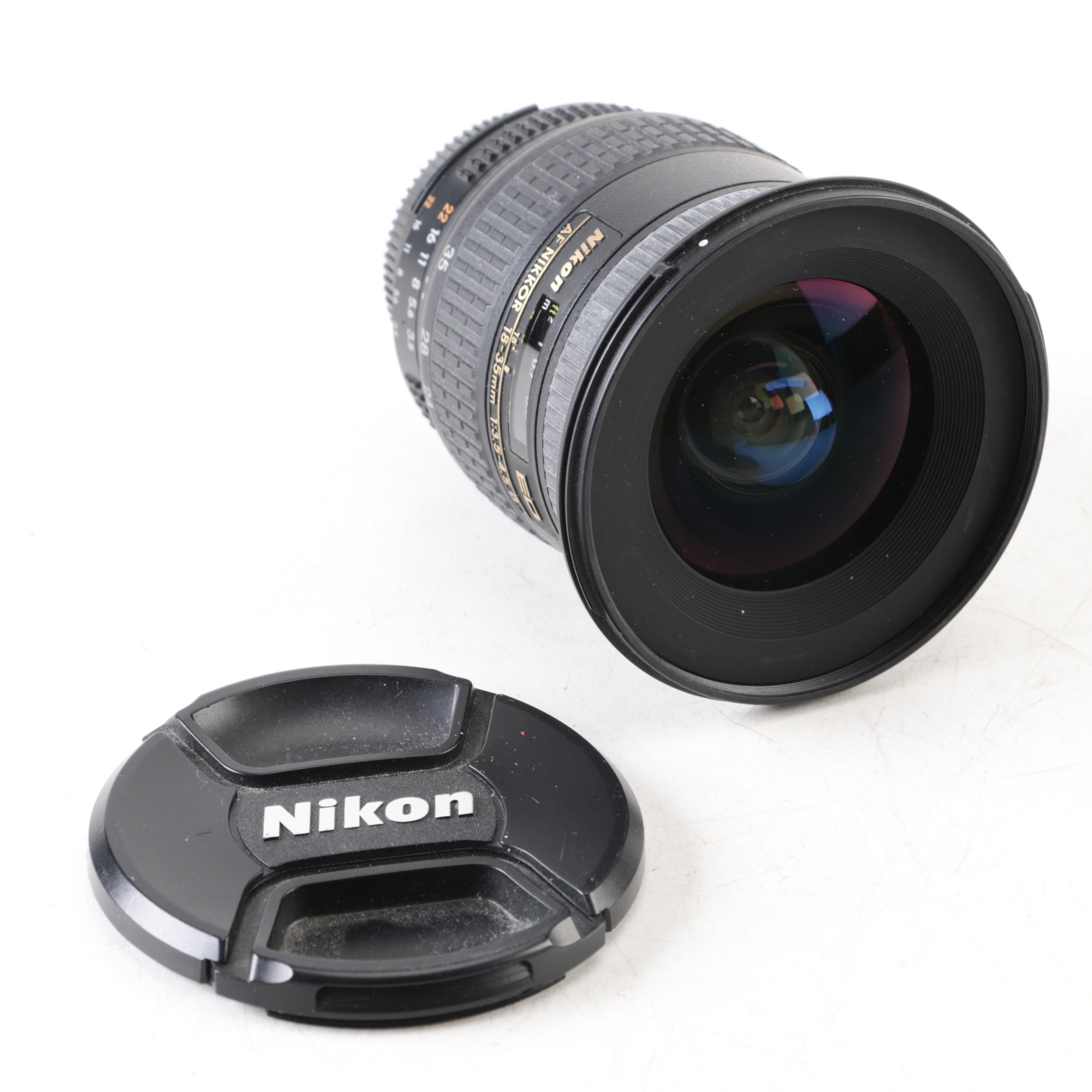Nikon ED AF Nikkor 18-35mm Zoom Lens