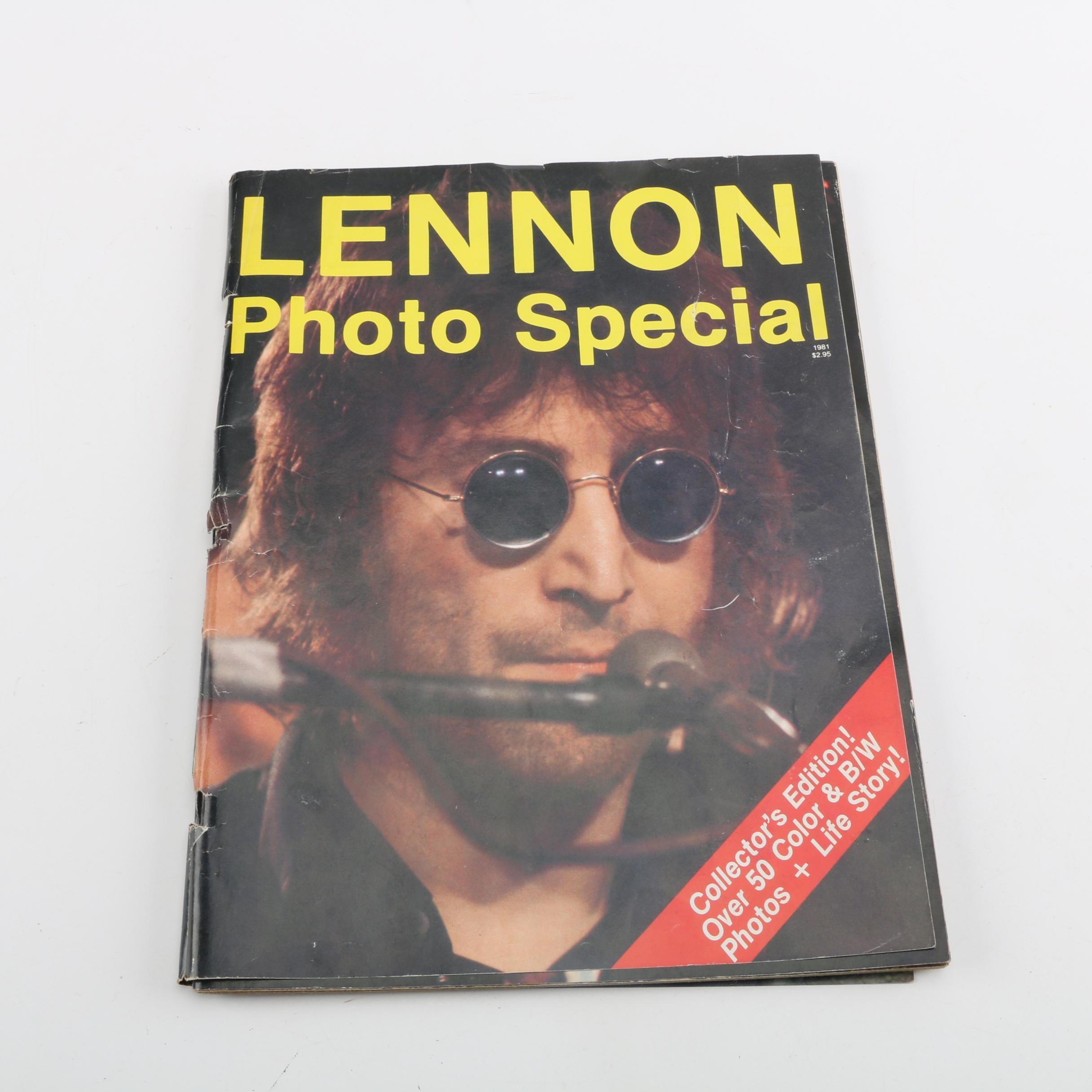 "Circa 1980s ""John Lennon Photo Special"" Magazine"