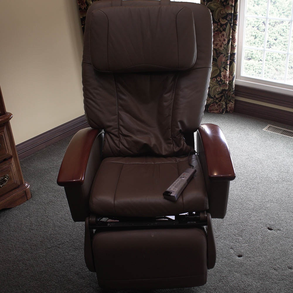 HT-136 Leather Massage Chair by Human Touch Technology