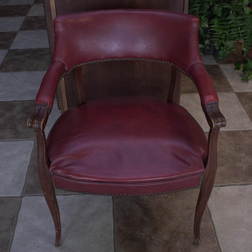Mid-Century Office Armchair