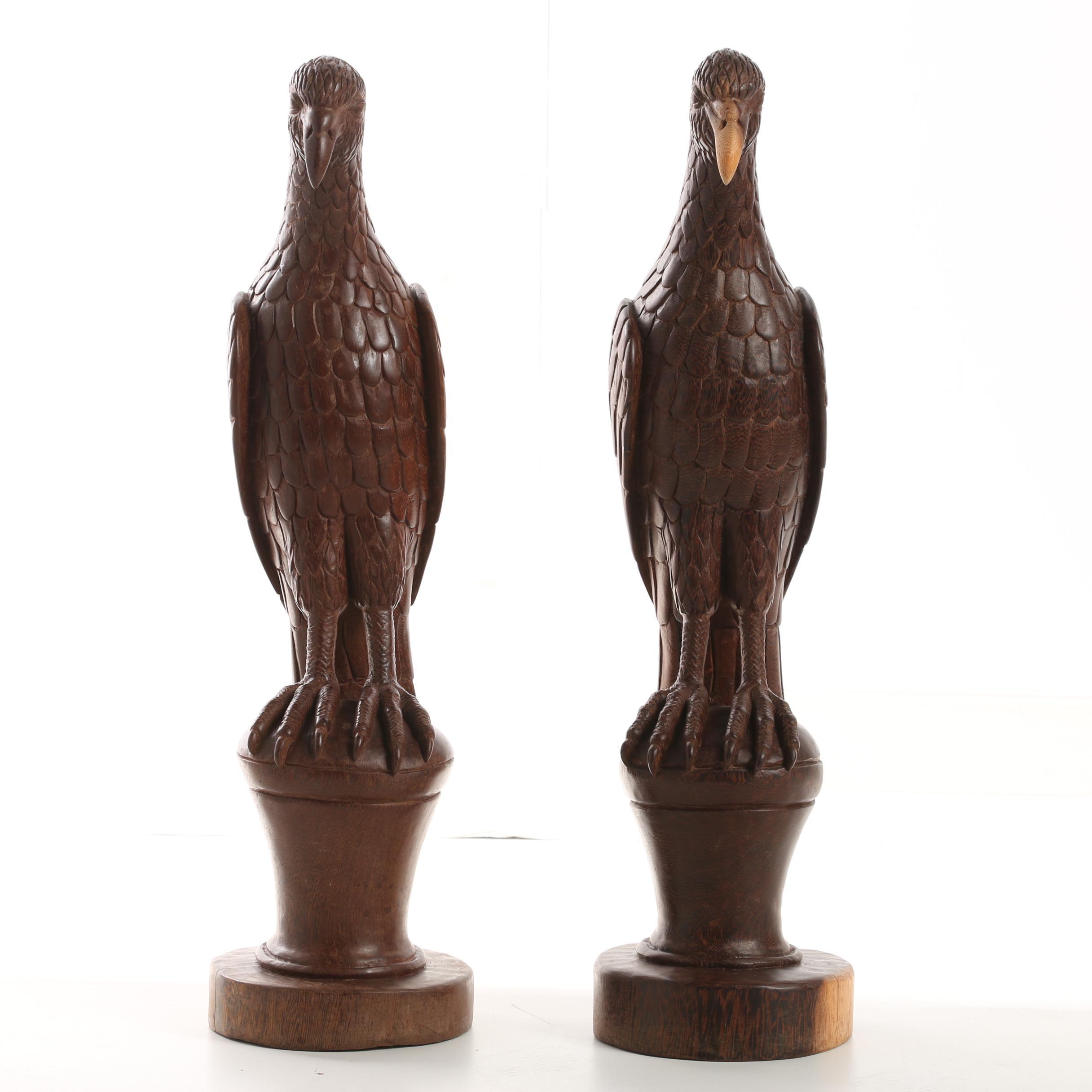 Carved Wooden Sculptures
