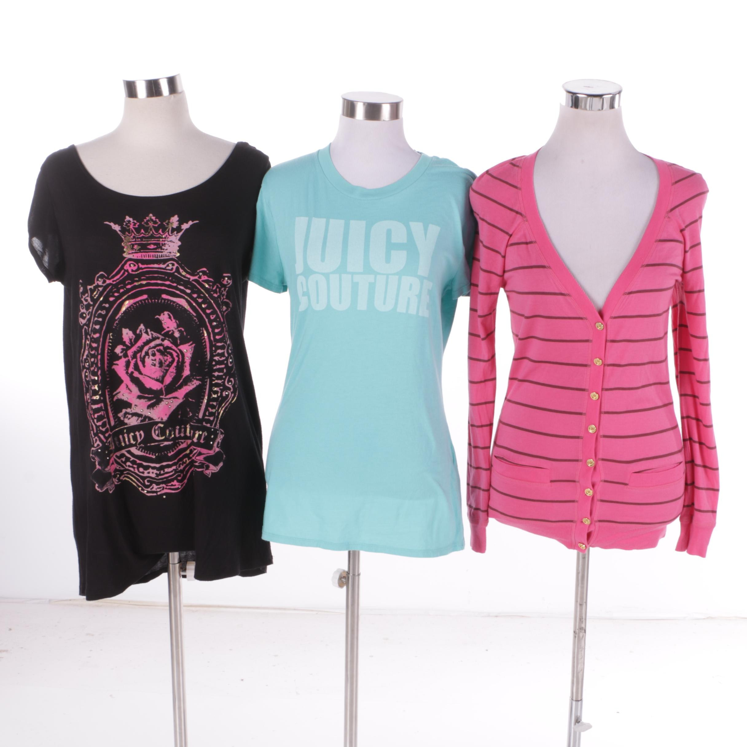 Women's Juicy Couture Shirts and Cardigan