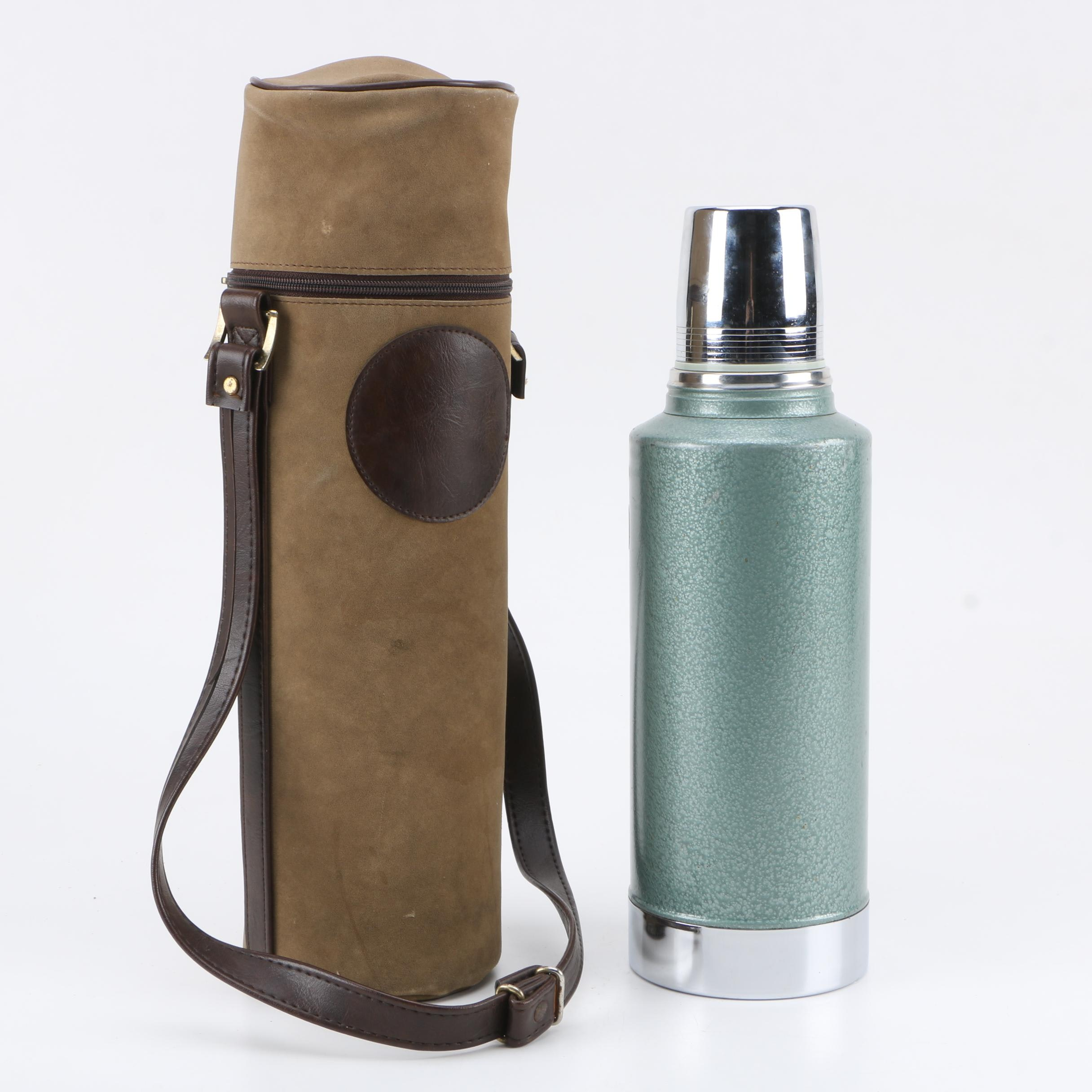 Stanley Thermos Bottle with Carrying Sleeve