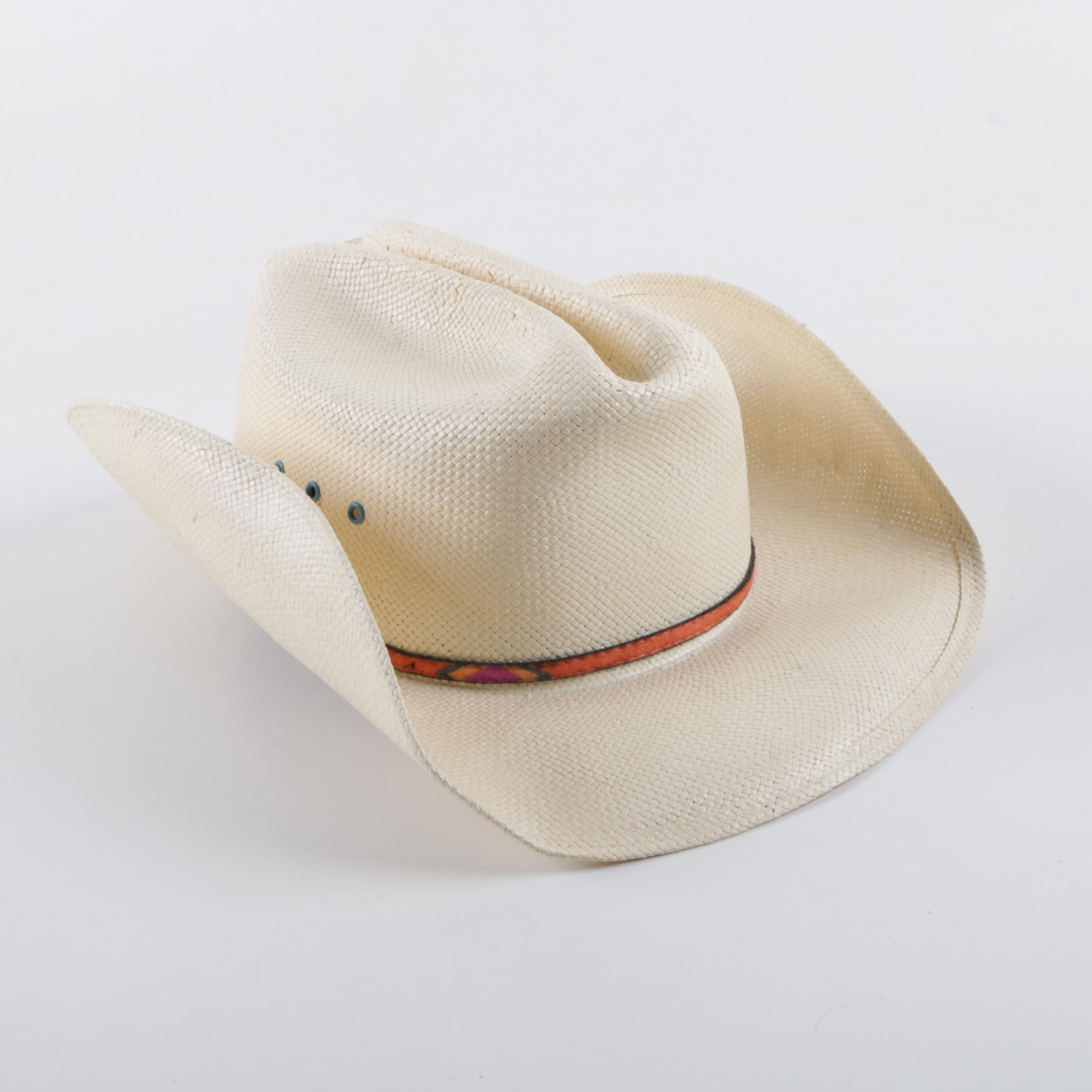 Tammy Cochran Signed Cowboy Hat by Parrot Hat Shop