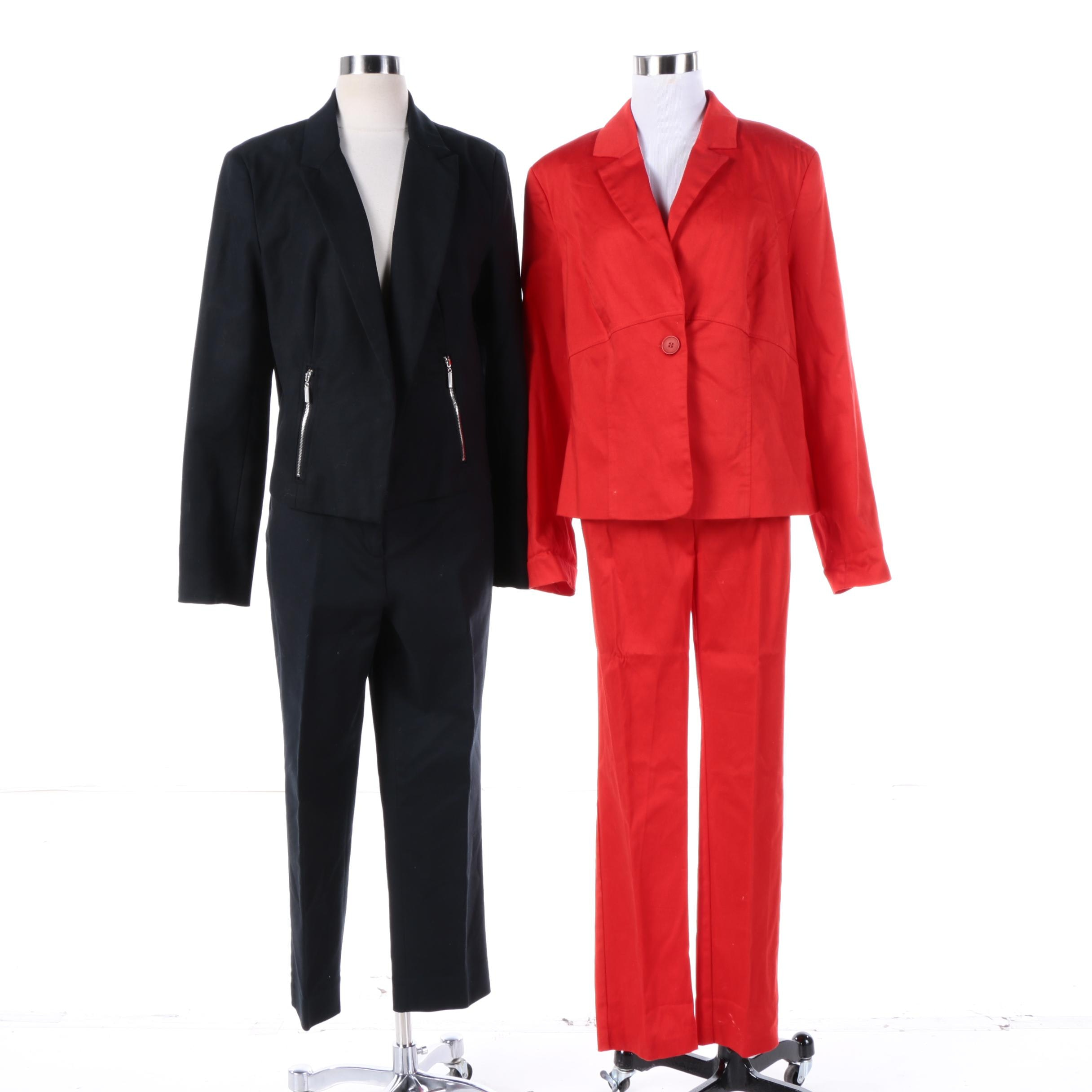 Women's Grace Elements and Venus Cotton Blend Pantsuits