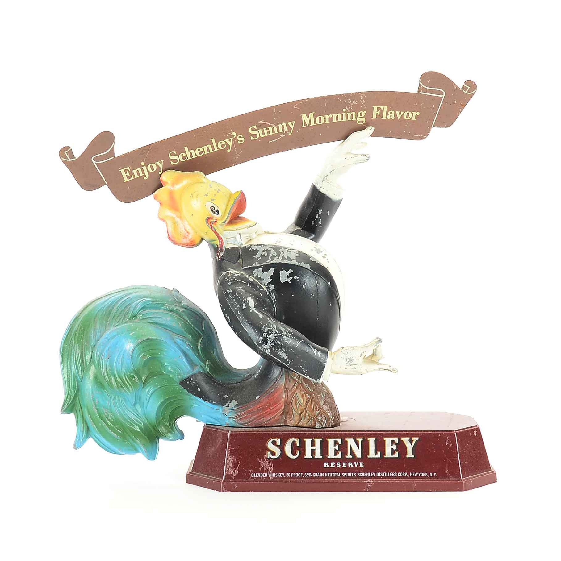 Schenley Whiskey Store Display