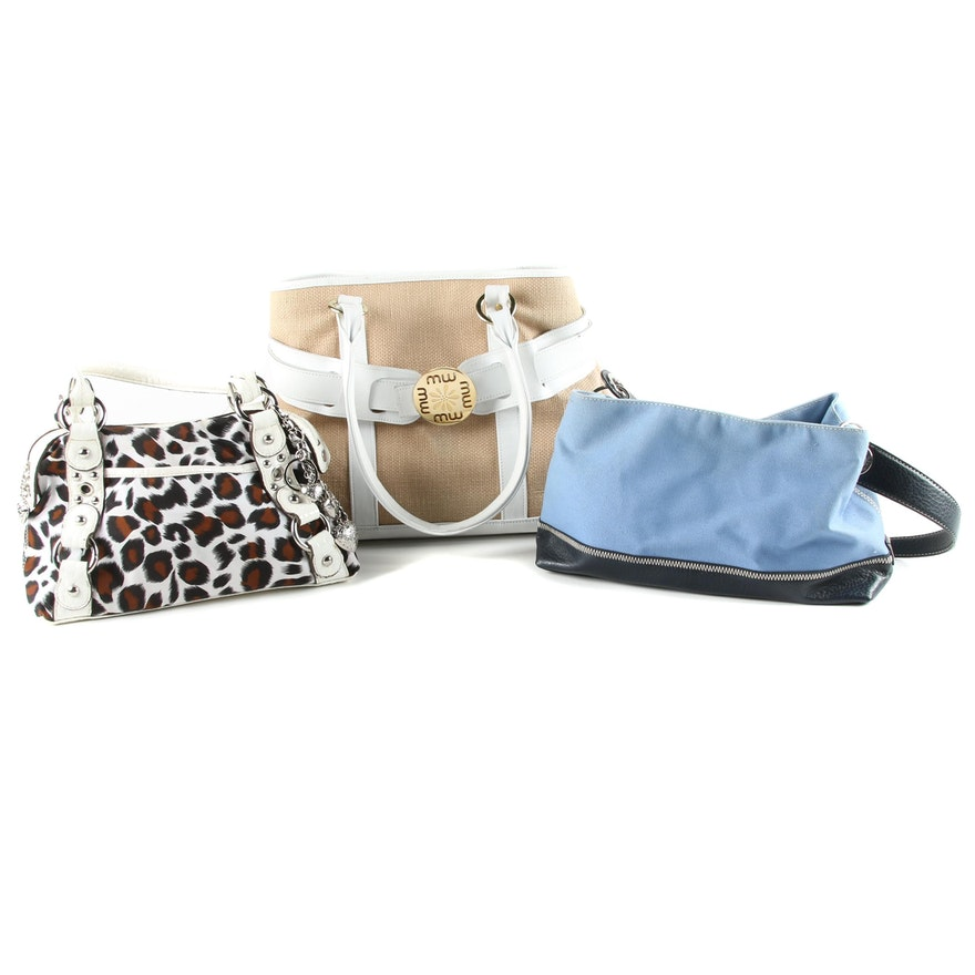 Group Of Handbags Including Maggie Wilson And Tommy Hilfiger