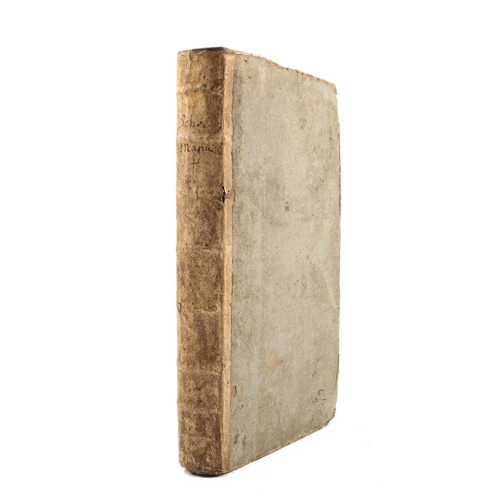 "1733 ""The Scholar's Manual"" by John Leake"