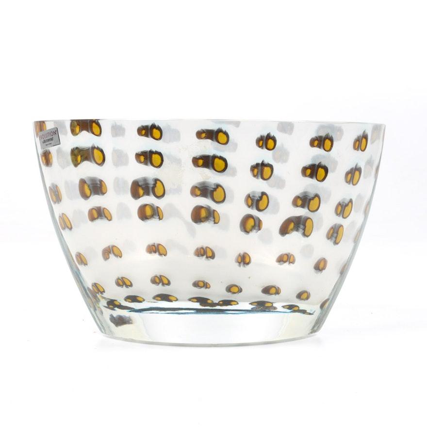 Evolution By Waterford Art Glass Vase Ebth