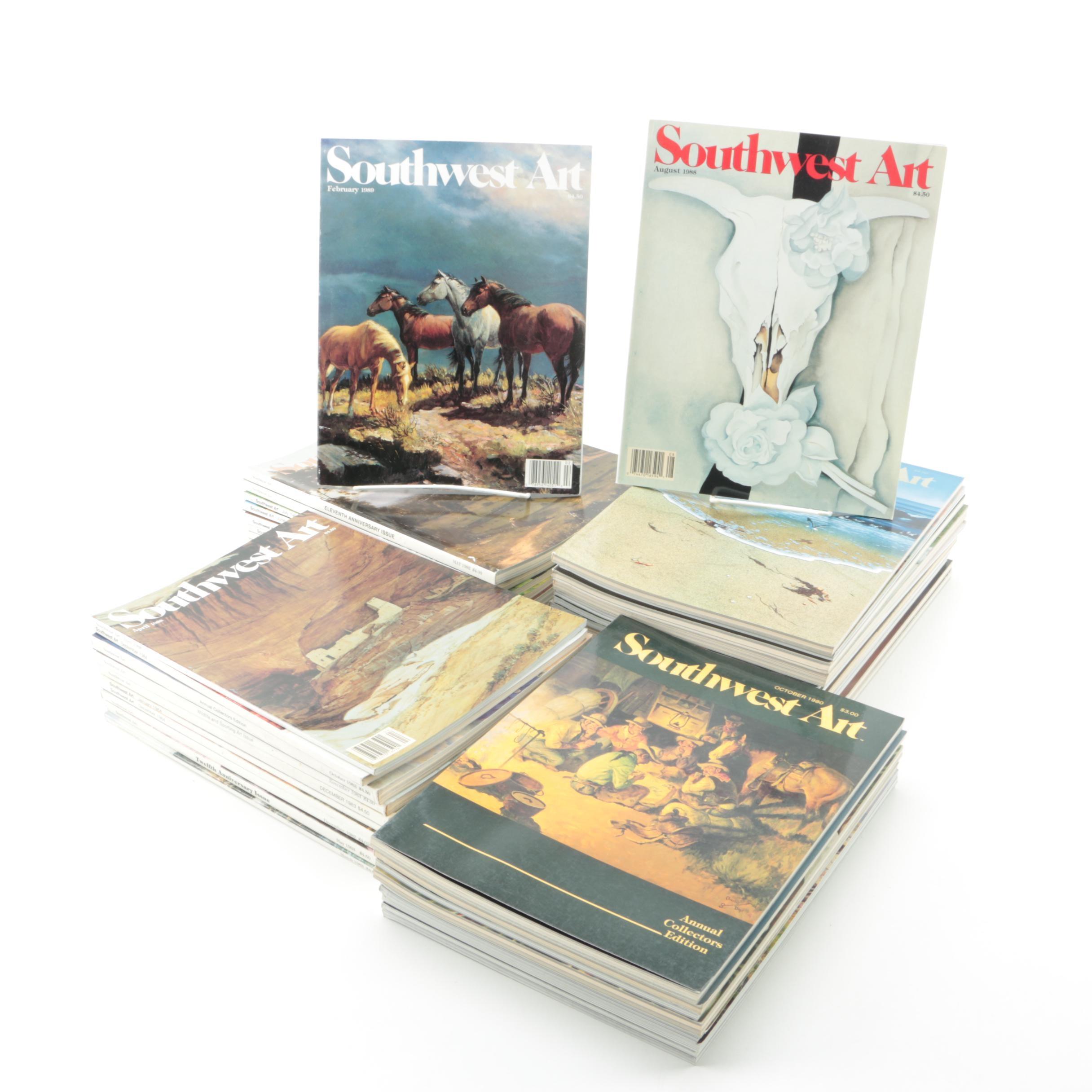 """""""Southwest Art"""" Magazines"""