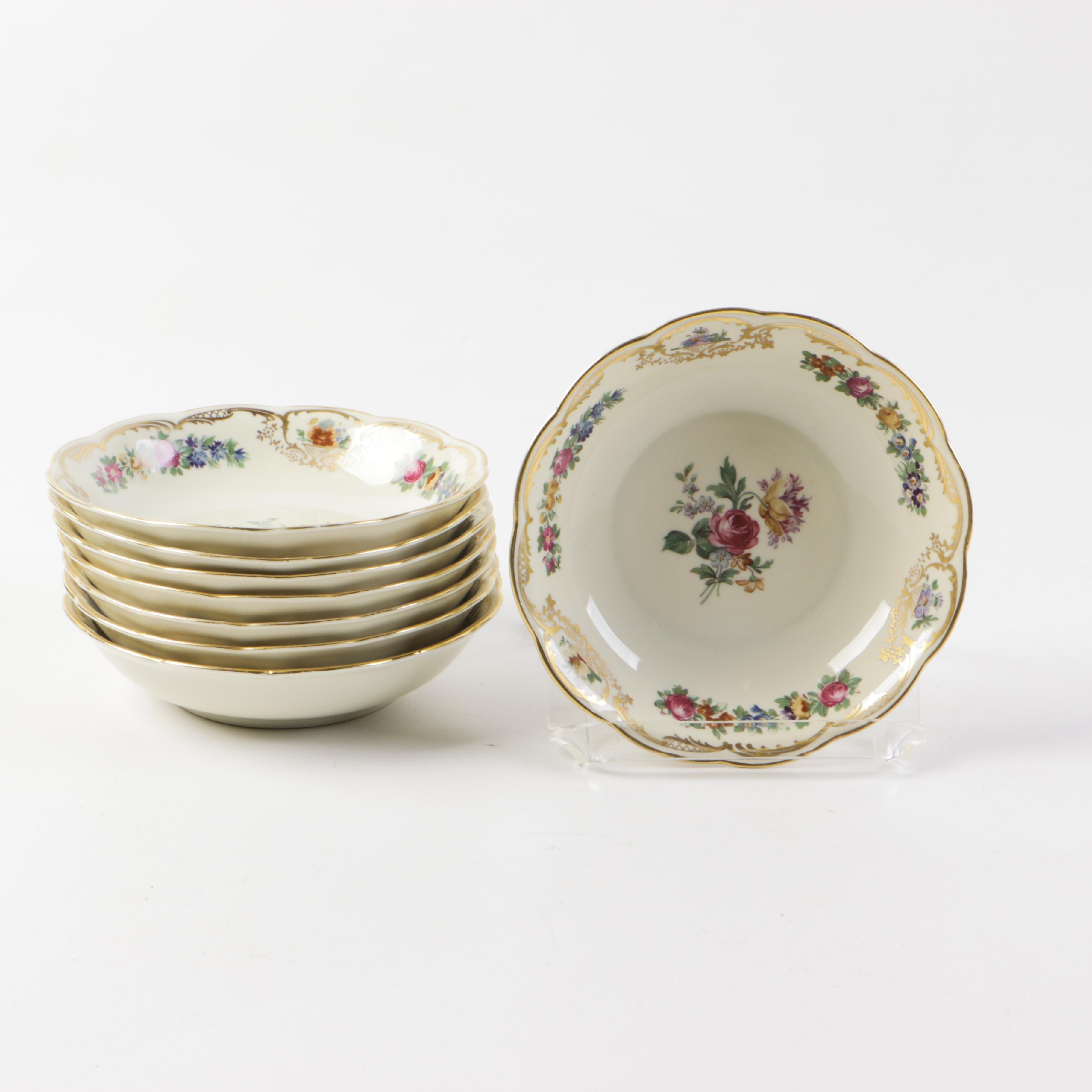 Set of Royal Bayreuth Bowls