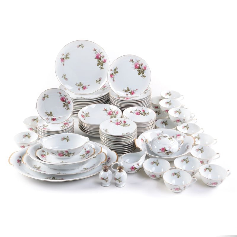 Moss Rose Tableware Collection