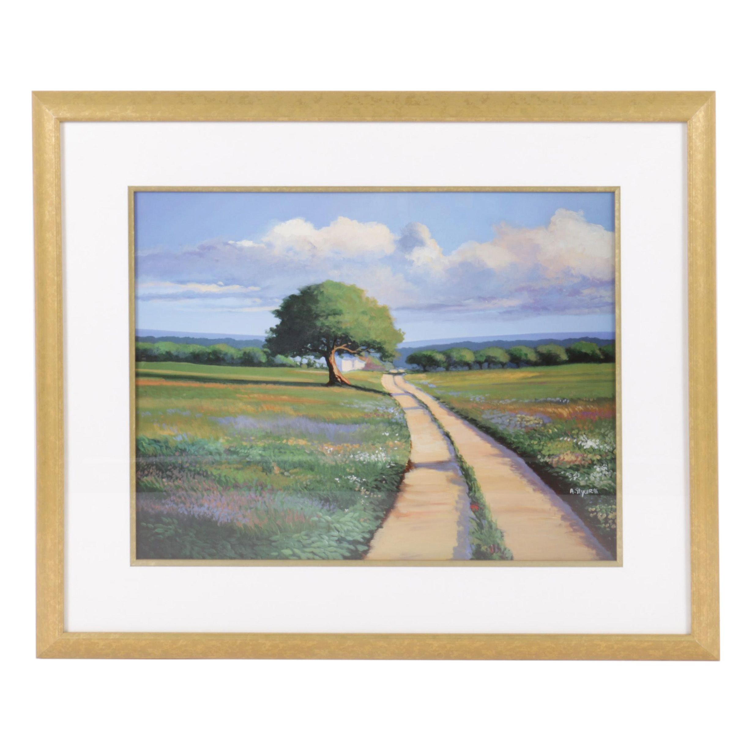 Anda Styler Reproduction Print of Countryside