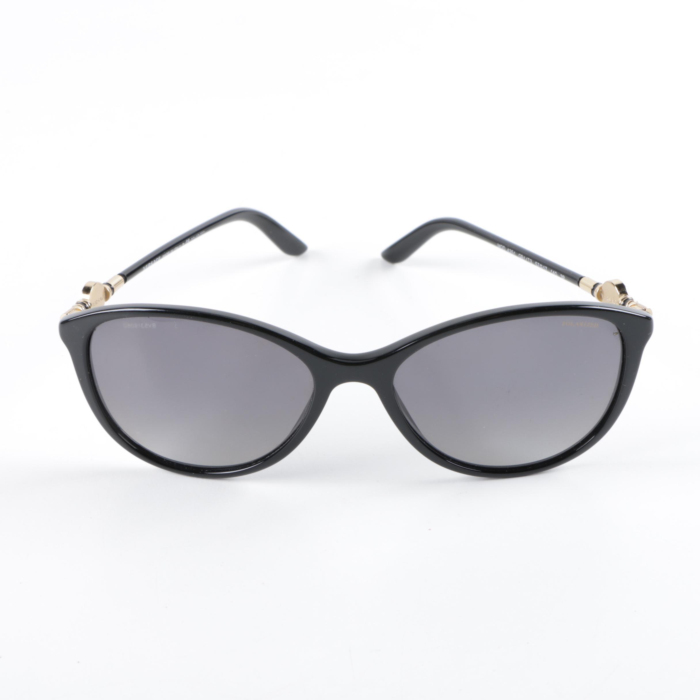 Versace 4251 Black Cat Eye Sunglasses
