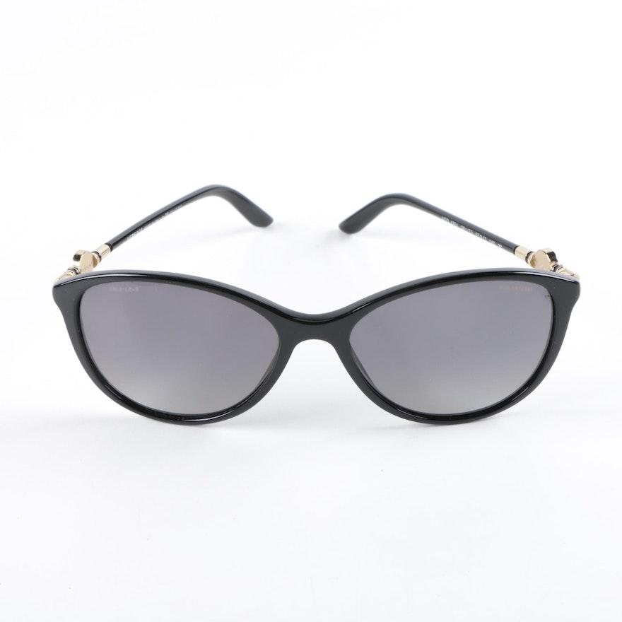c1572fa26a Versace 4251 Black Cat Eye Sunglasses   EBTH