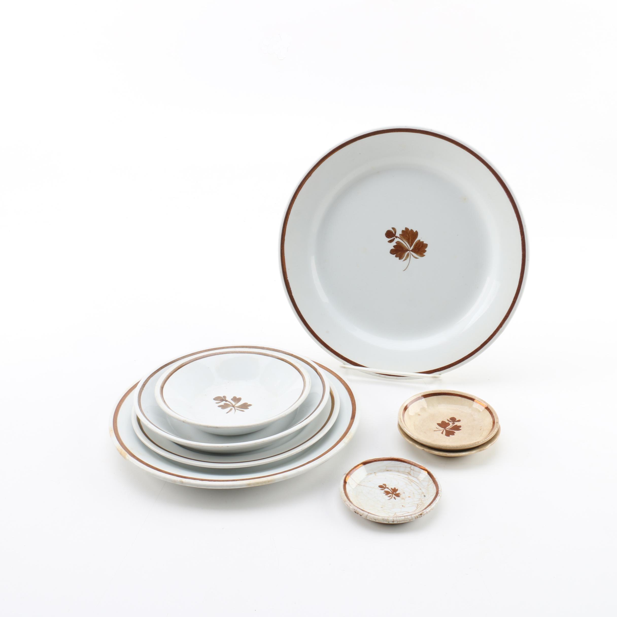 "Alfred Meakin ""Tea Leaf"" Ironstone Tableware"