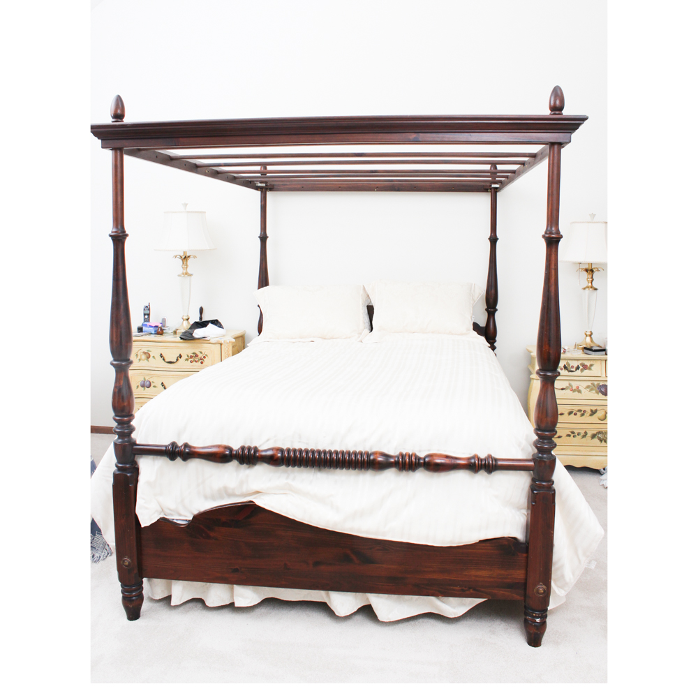 queen size canopy bed - Ibov.jonathandedecker.com