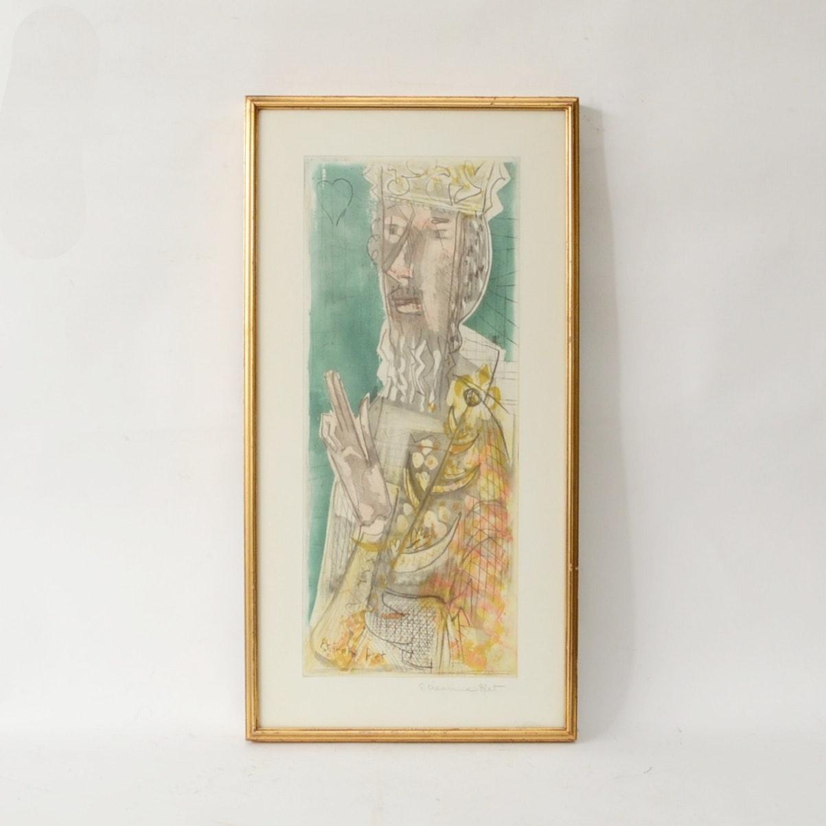 Etienne Ret Watercolor
