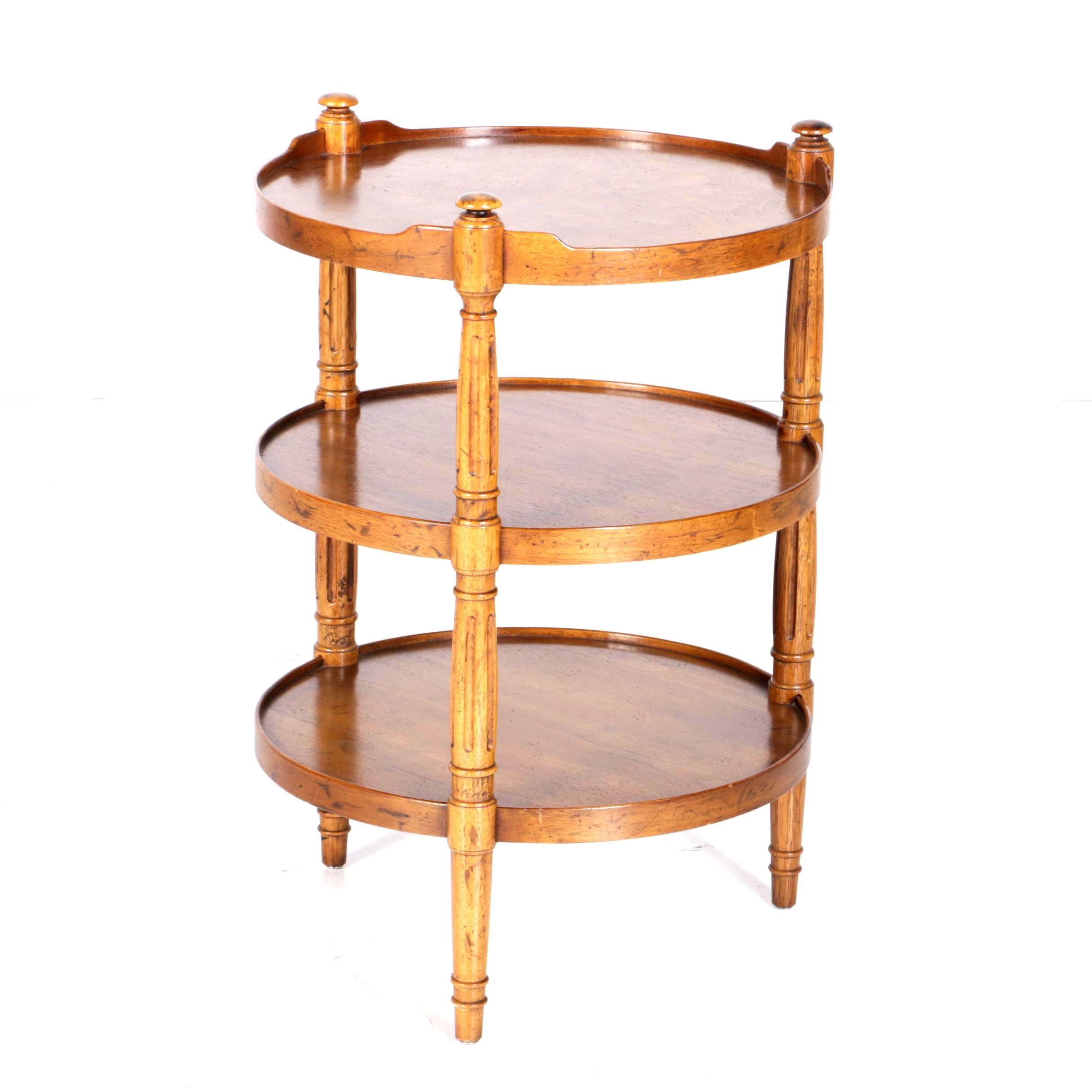 Heritage Three-Tier Accent Table