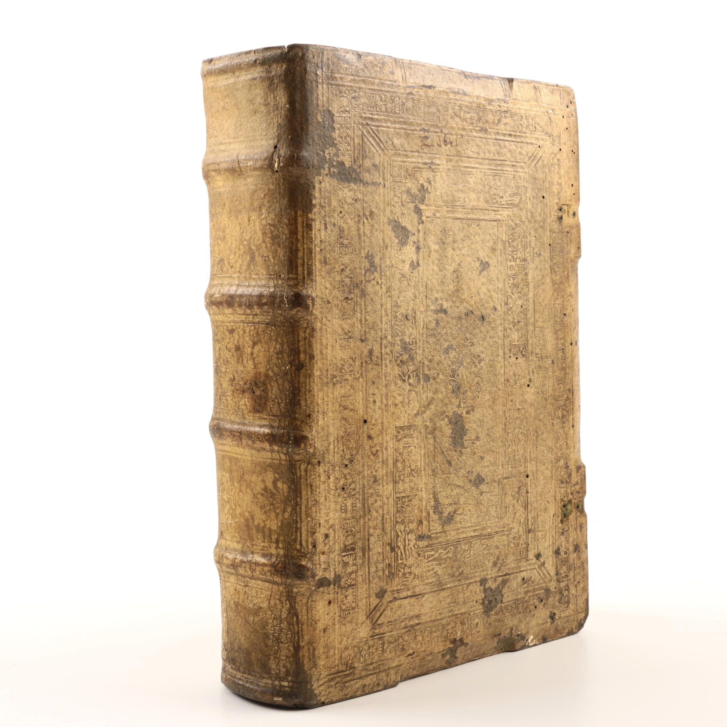 "1535 ""Autores Historiae Ecclesiasticae"" Printed by Hieronymus Froben"