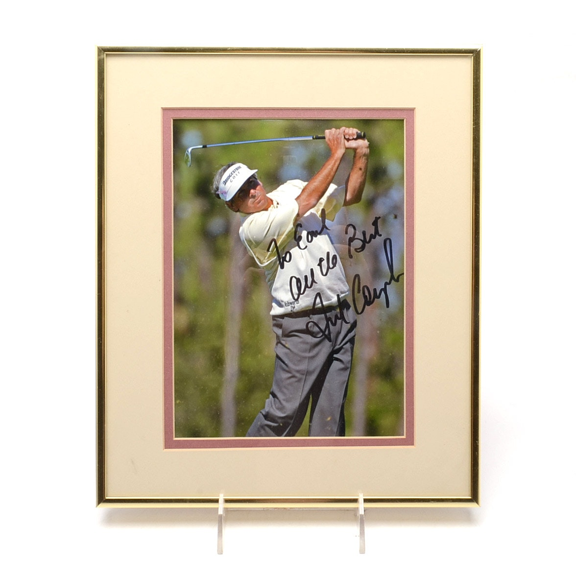 Fred Couples Signed Photo