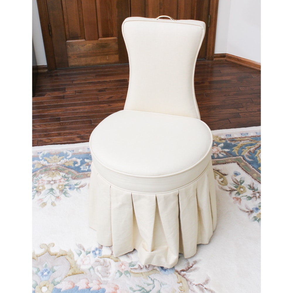 Frontgate Upholstered Vanity Seat