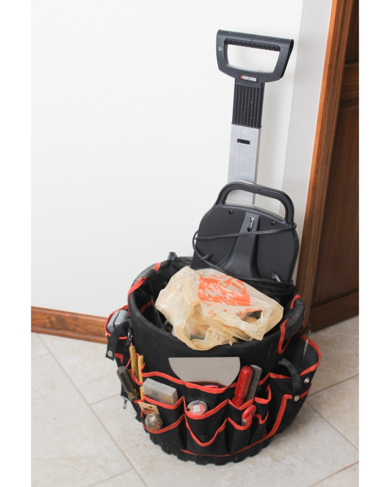 Black & Decker Rolling Tool Caddy with Tools