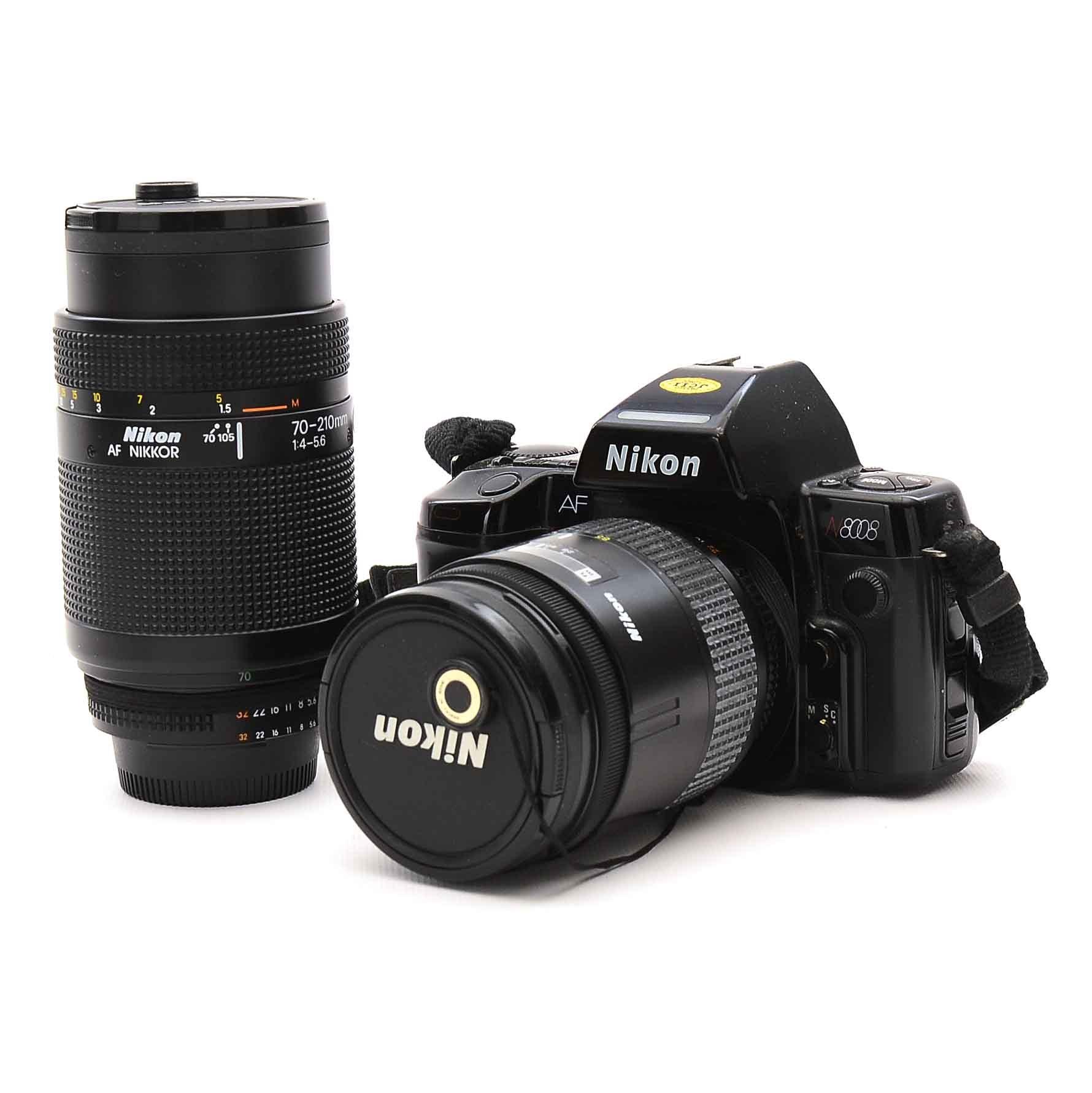 Nikon N8808 Camera and Nikon 70-210 MM Lens