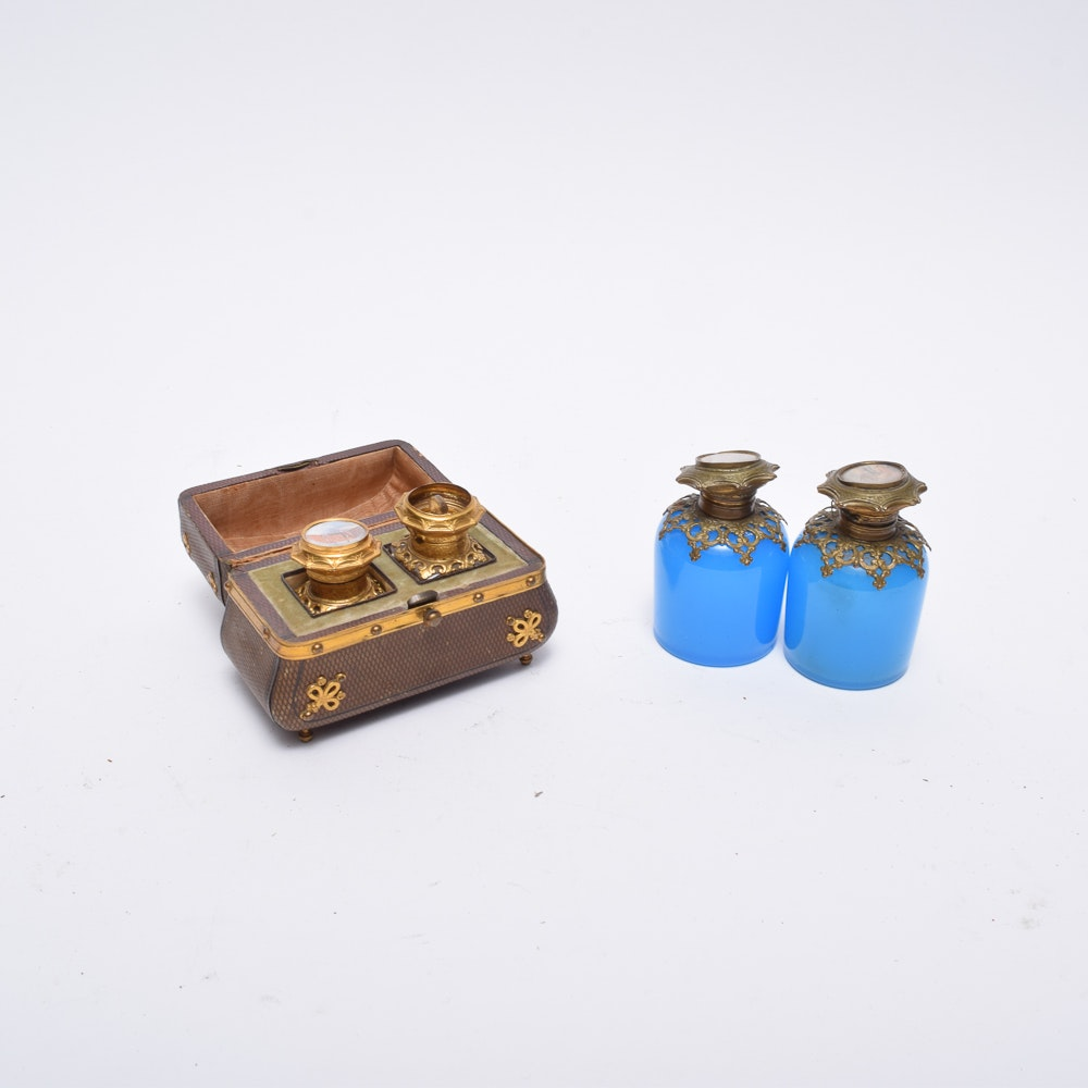 Victorian French Scent Bottles