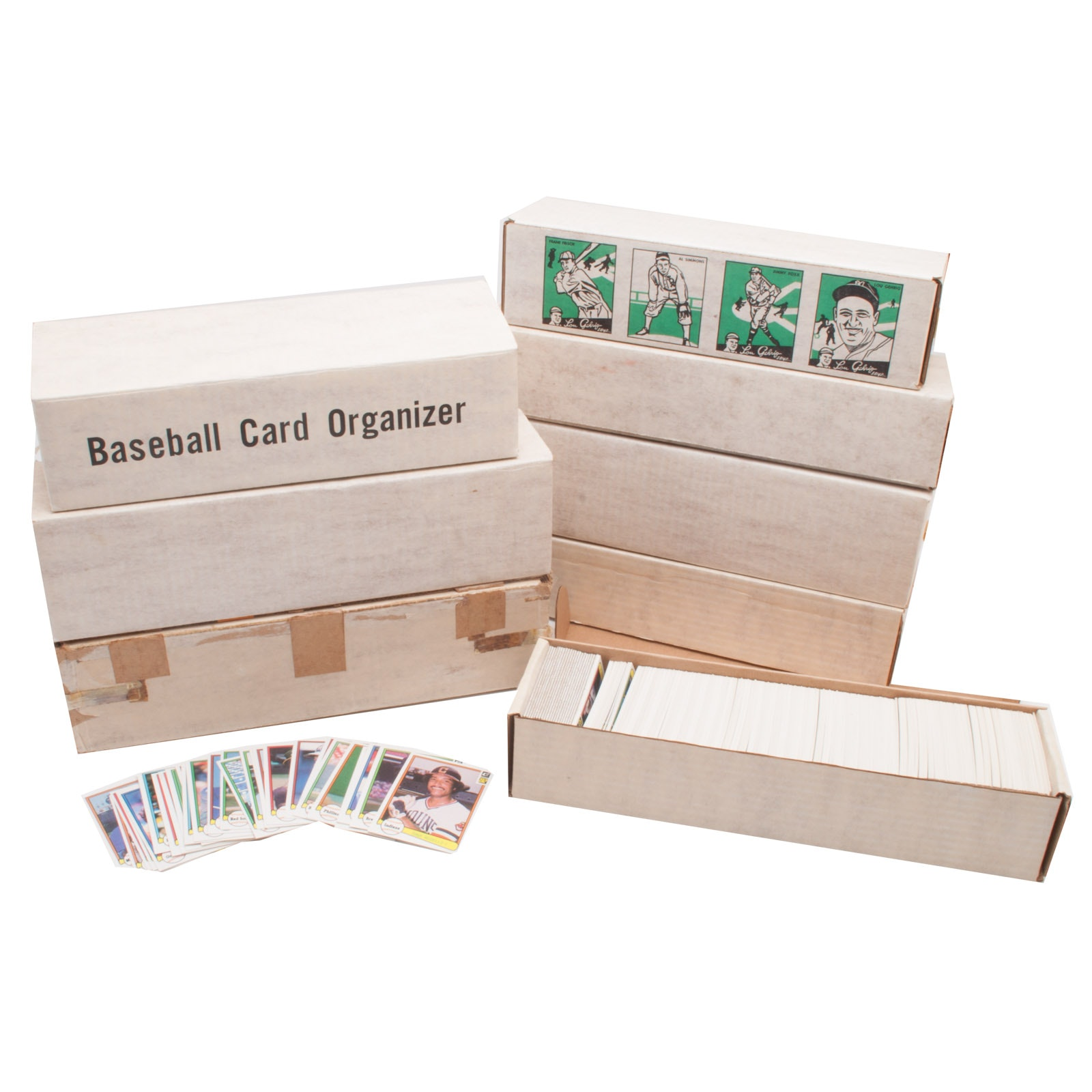 1980s Topps, Donruss, and Fleer Baseball Sets