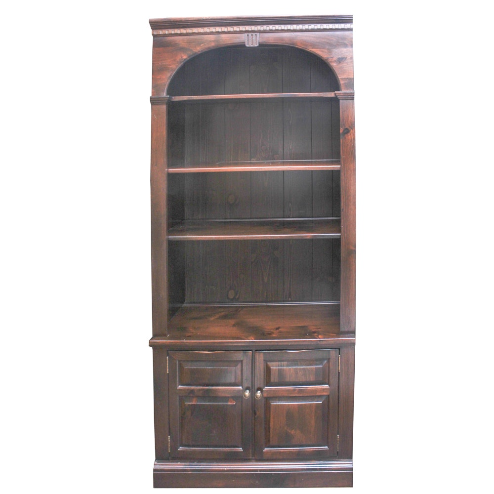 Vintage Ethan Allen Pine Bookcase
