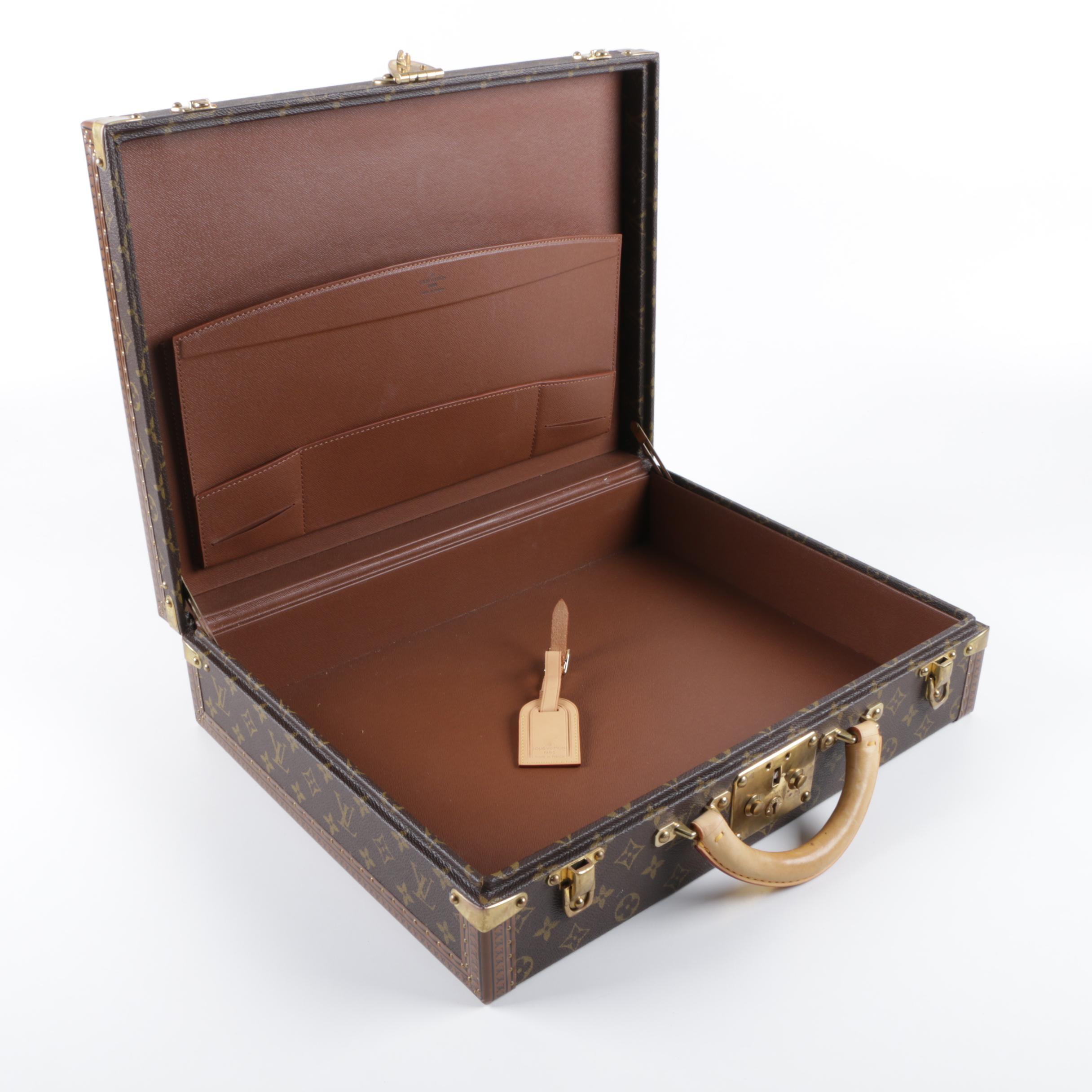 Louis Vuitton Monogram Canvas President Classeur Briefcase
