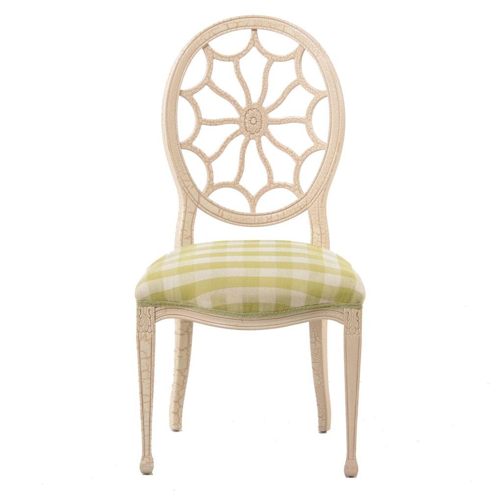 Oval Back Dining Chair by Fairfield