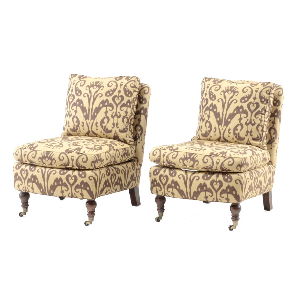 Pair of Lee Industries Arm Chairs